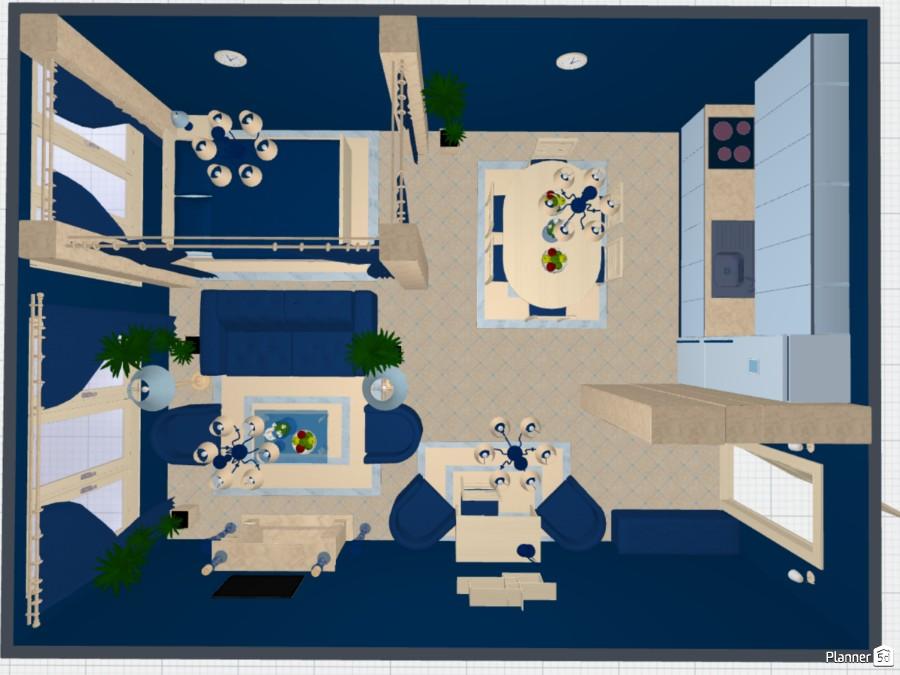 Синяя комната-студия 75736 by Мария Кирпа image