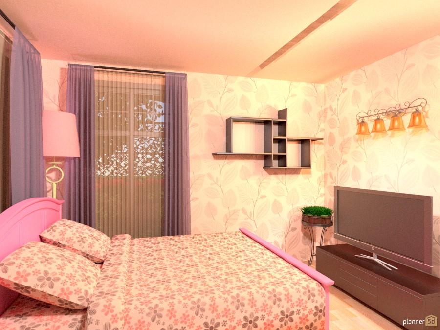 Peach Girl Room 1014967 by Versailles Tee image