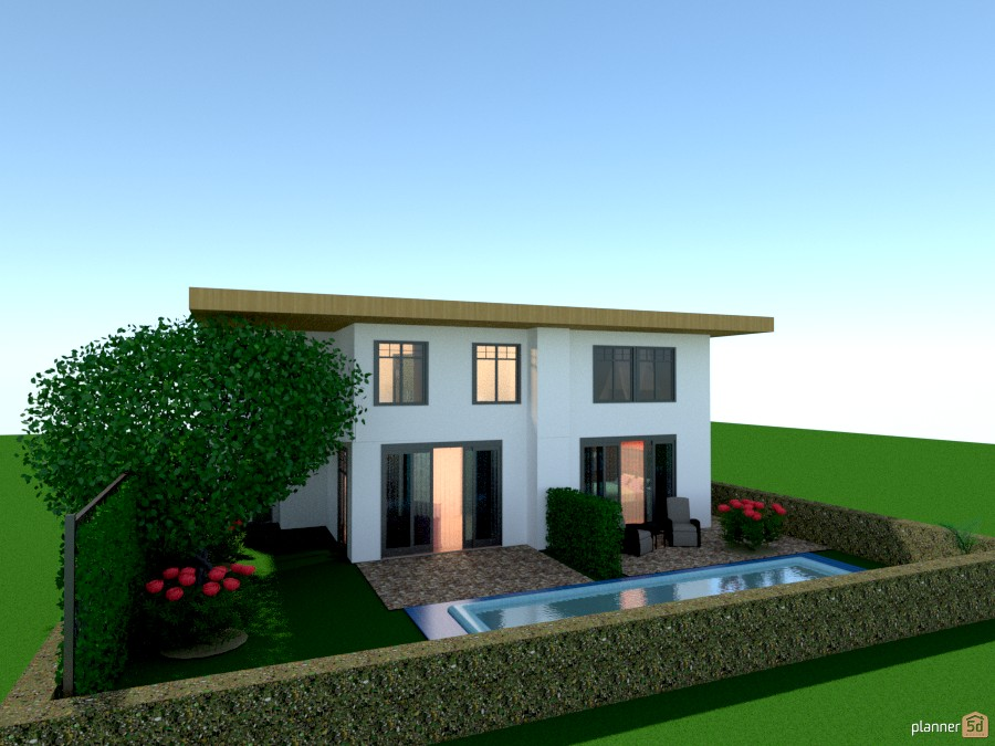 Small Family House 1015296 by Versailles Tee image