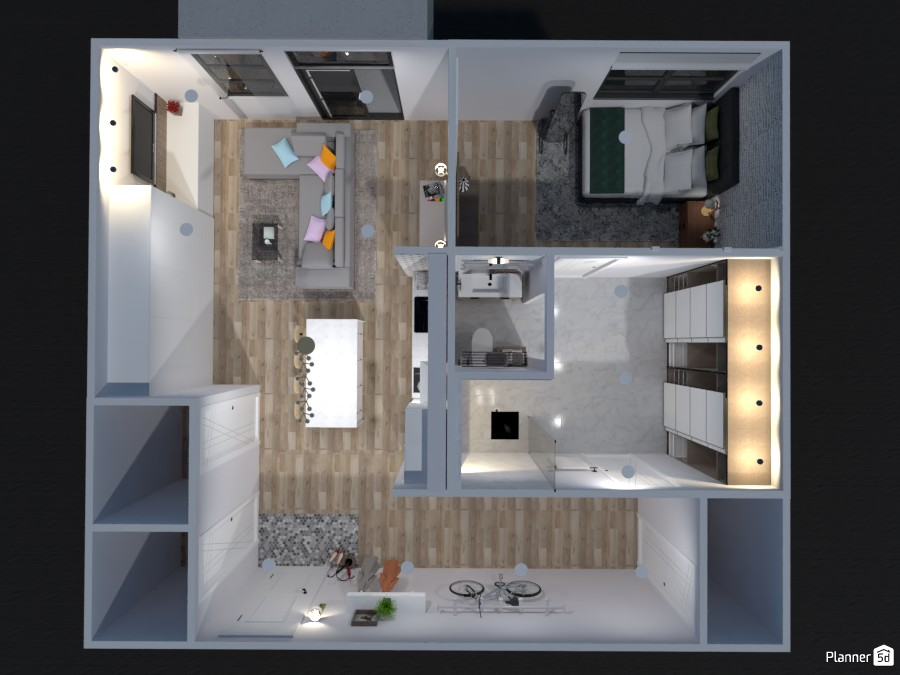 Avalon Single Bedroom Apartment with Deck 83363 by Isabel image