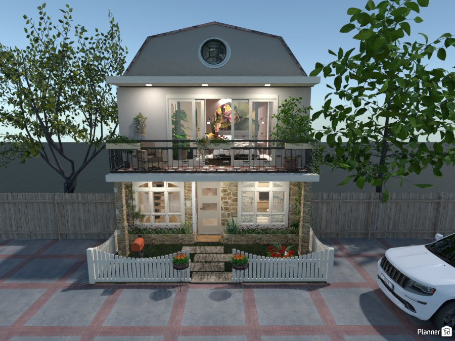 6x6 Mq with 2 Floors: Front 4414022 by Moonface image