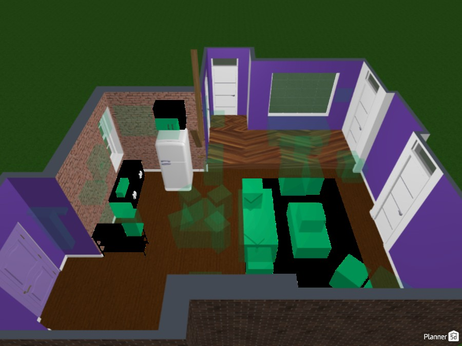 Monica's apartment from friends with a twist! 82831 by Doggies! image