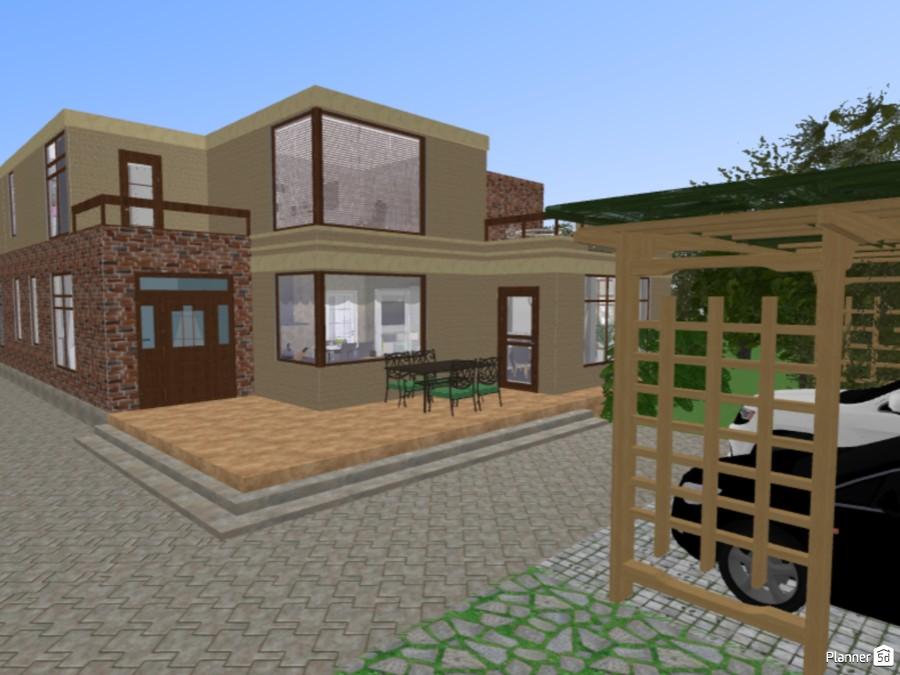 Современный дом/ Modern home 71695 by Elizaveta Xamdi image