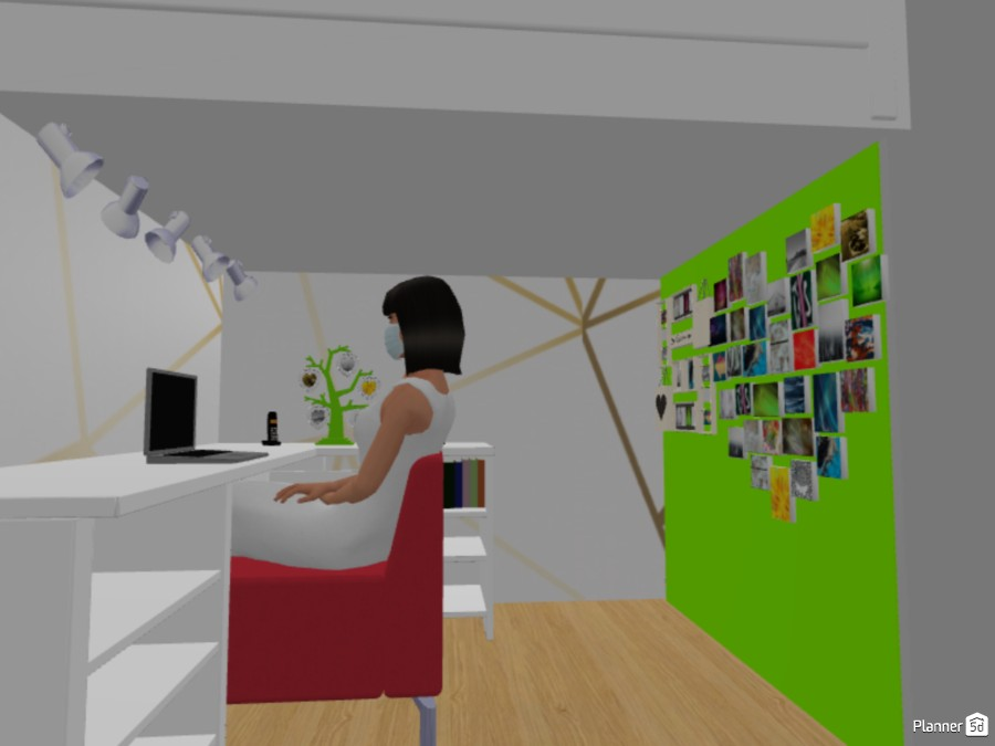 Girl bedroom 87502 by The Genius Of Design image