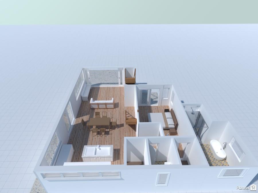 Modern Coastal First Floor 5037230 by Josephine Perkins image