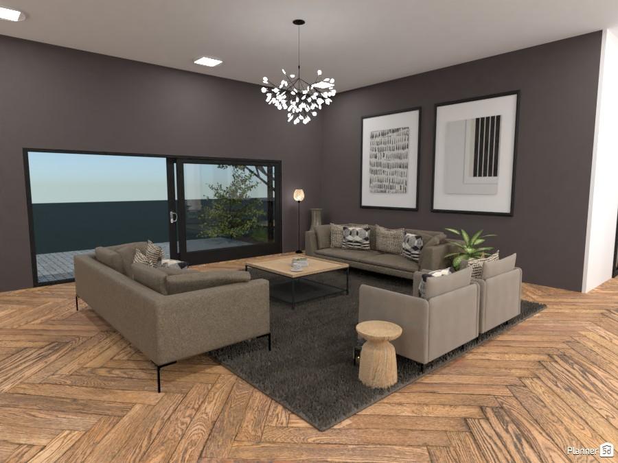 Scandinavian style modern Living room 4324965 by Ana G image