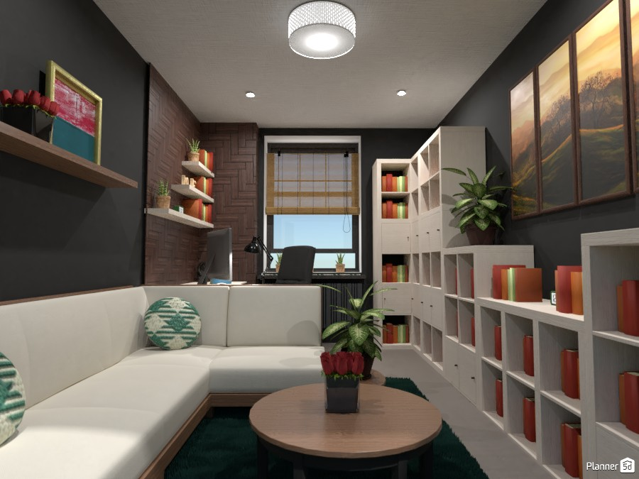 Home office from the Designe battle contest 4275132 by Gabes image