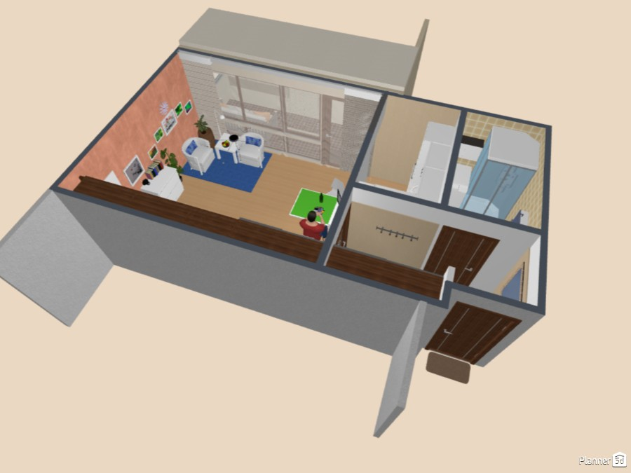 Student apartment. 67985 by Siegfried Peter image
