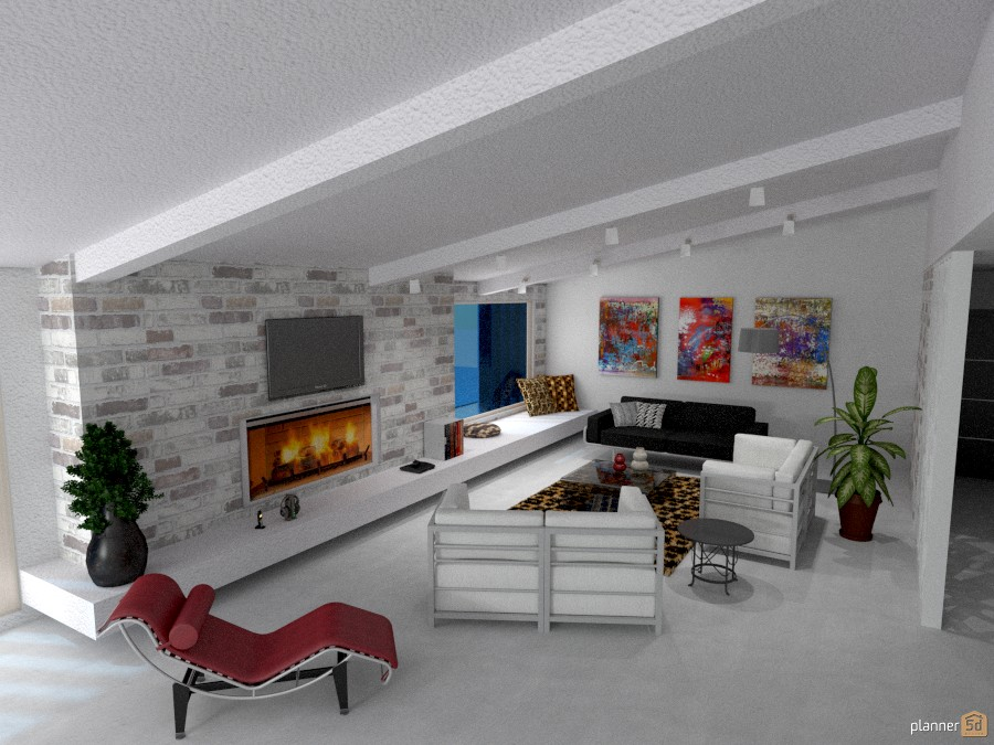 Villa Vacanze : panoramica del salotto 1015173 by Micaela Maccaferri image