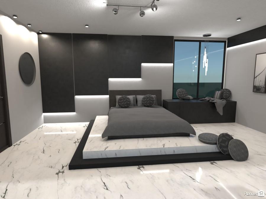 Modern bedroom 4638228 by Bridget image
