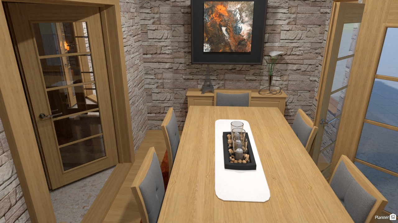 The Octagonal House - Dining Room 3611054 by D14 image