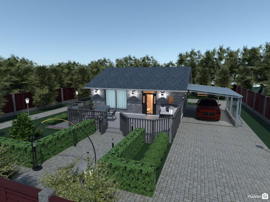 Бюджетный домик  для двоих с удобной планировкой. 3787371 by Ольга image