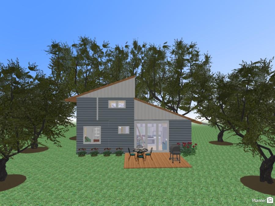 2br 2 bath 10' x 30' tiny house 69259 by Joy Suiter image