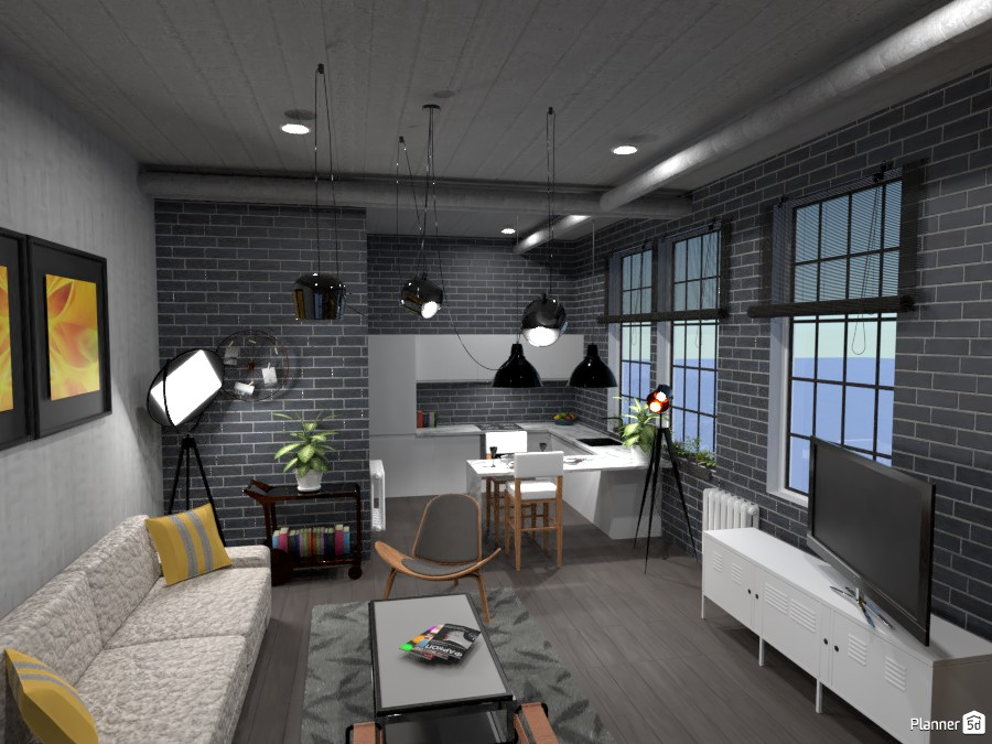 Loft industrial 4159940 by Remadi image