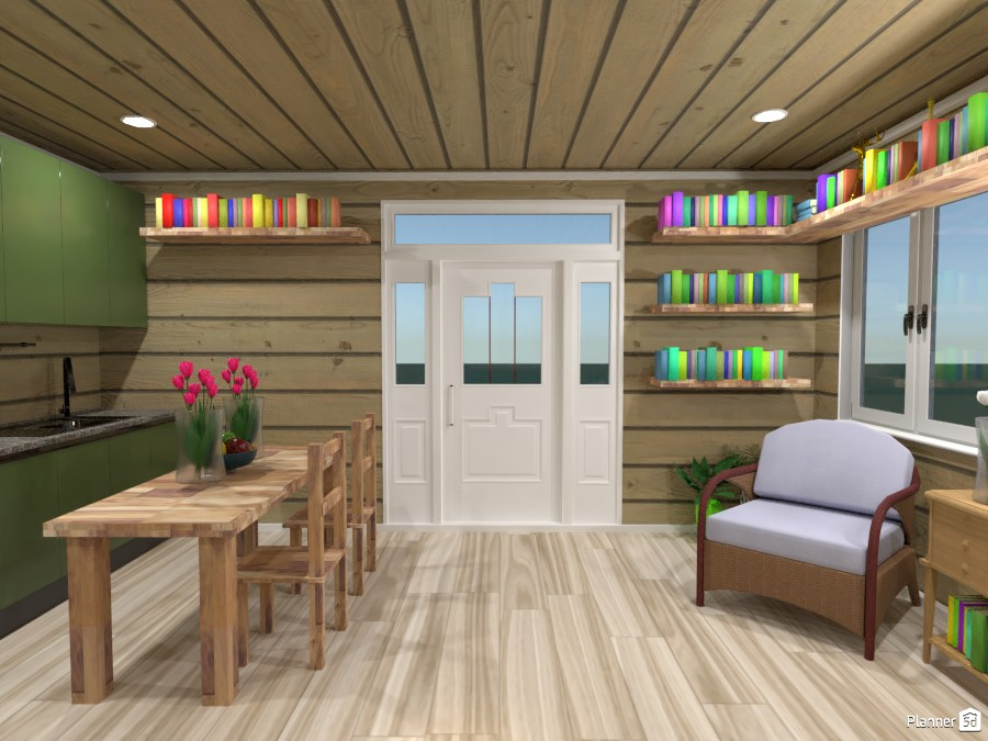 Woodsy Tiny House 83841 by Erin image