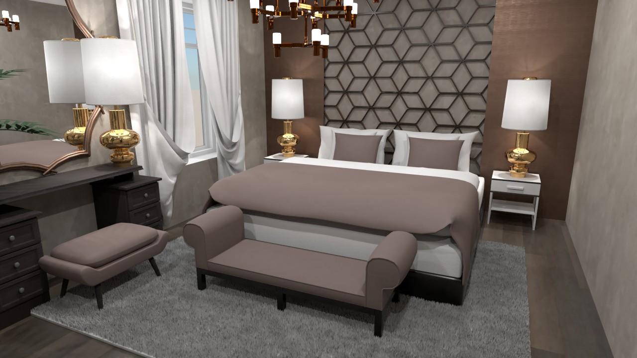 Luxurious bedroom 87690 by Evelinaa image