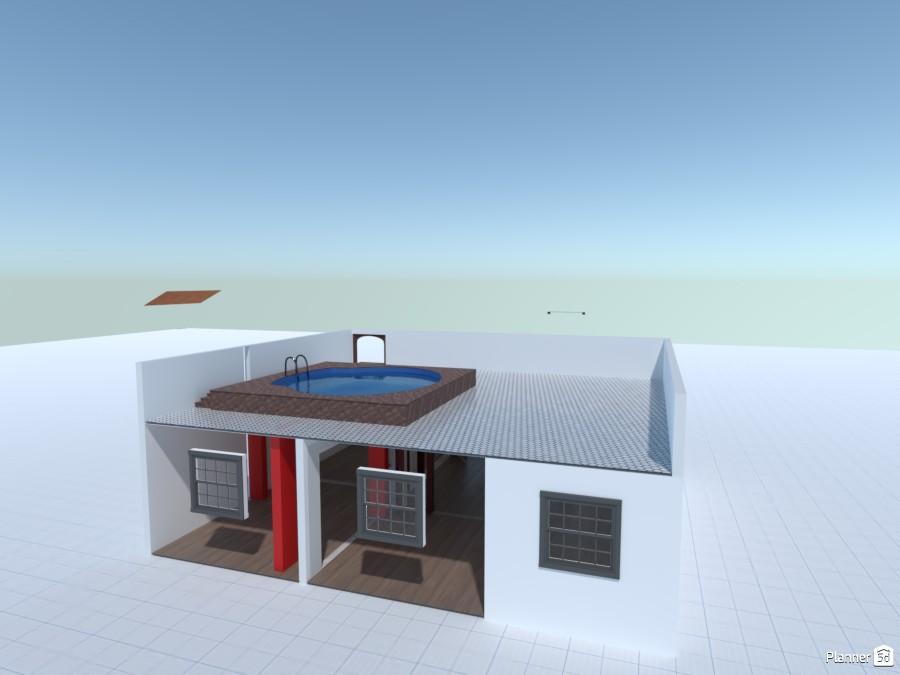 Reforço Estrutural com Vigas Metálicas para colocação de Piscina 86223 by Mário Caraça image