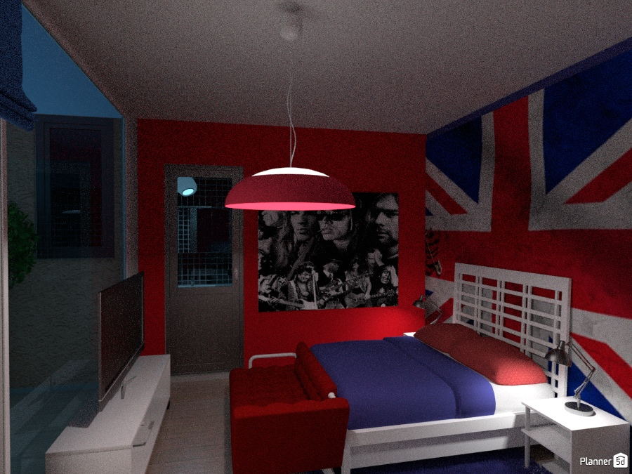 ROOM  ENGLAND AND ROCK THEME 1844452 by M SECK image