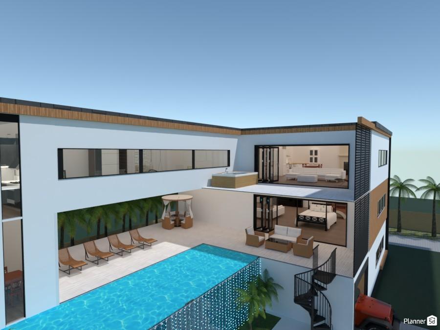 modern mansion 4521678 by Yasemin Seray Ençetin image