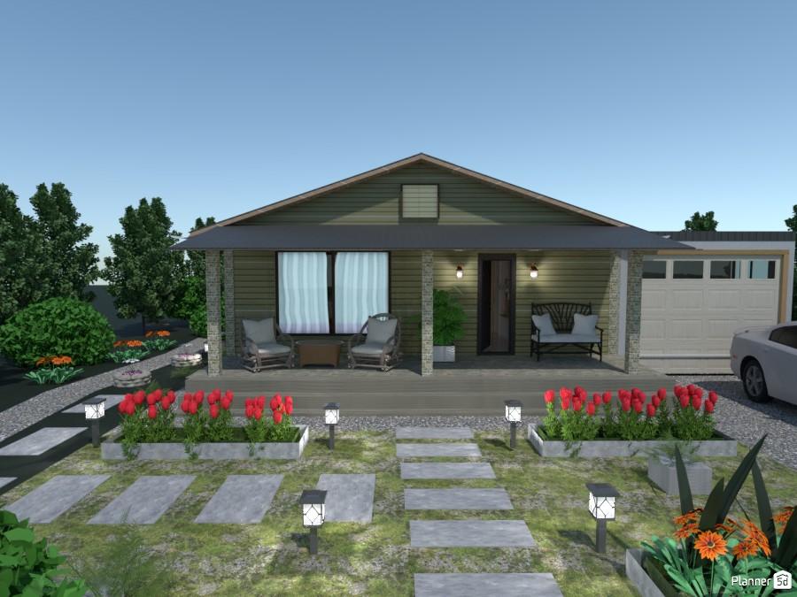 Бюджетный домик  для двоих с удобной планировкой. 3451309 by Ольга image