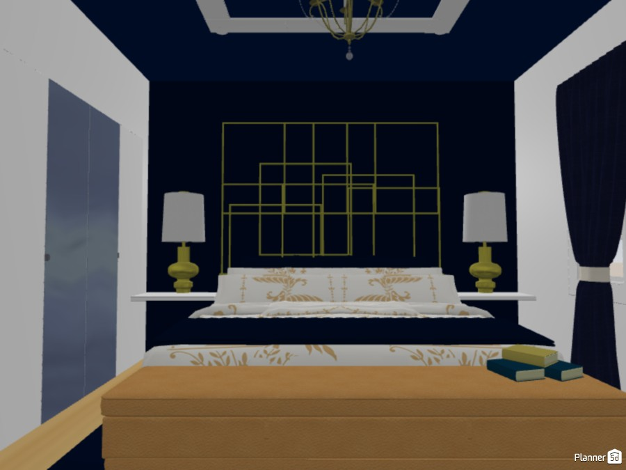 Classic Bedroom 87505 by The Genius Of Design image
