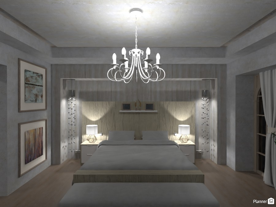 luxurious and minimalist house ( white & gold ) 4574729 by LØU DERØИNE image
