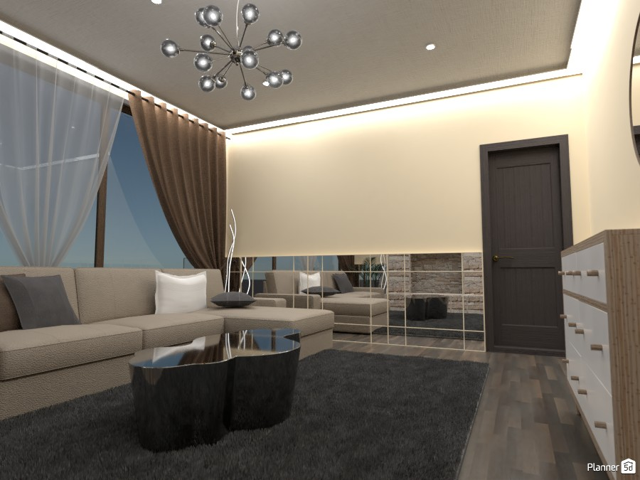 Mirror living room! 4985284 by Doggy image