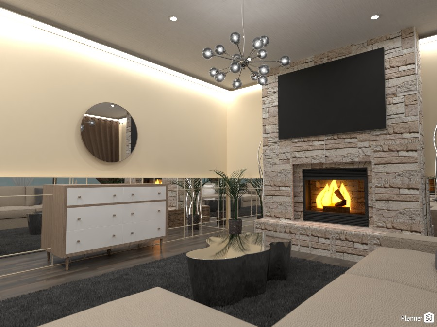 Mirror living room! 4985317 by Doggy image