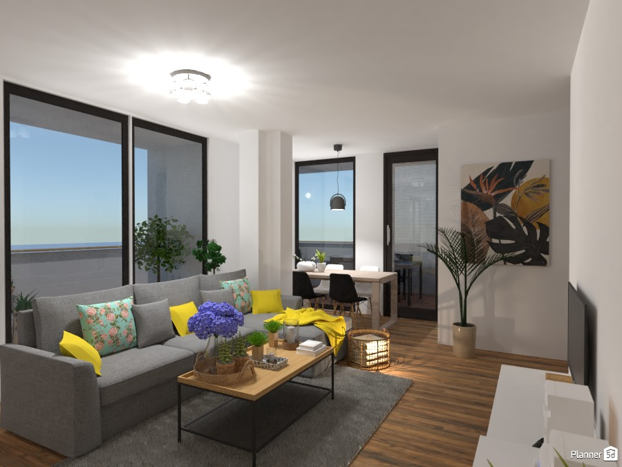 CA with an amazing terrace - living room 4543704 by Lucija Marko image