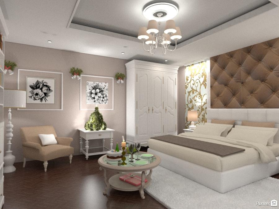 Новогодняя спальня для Зимнего марафона 1537661 by Татьяна image