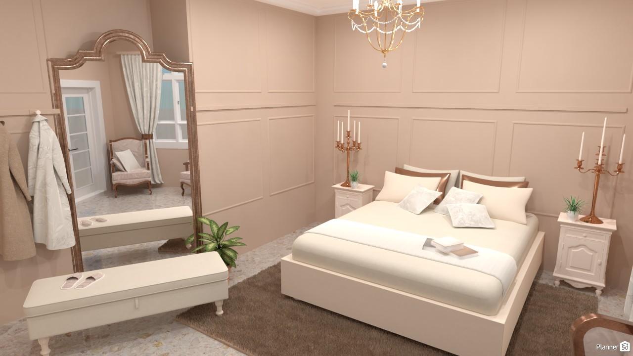 Dormitorio clásico. 4460479 by Hall Pat image