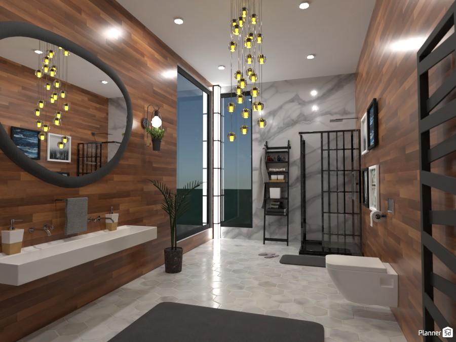 Nature Bathroom (DB) 4602896 by Annabella Grace Lara image