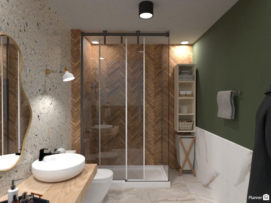 Banheiro Pequeno/Small Bathroom 4791359 by Stephanie Sousa image