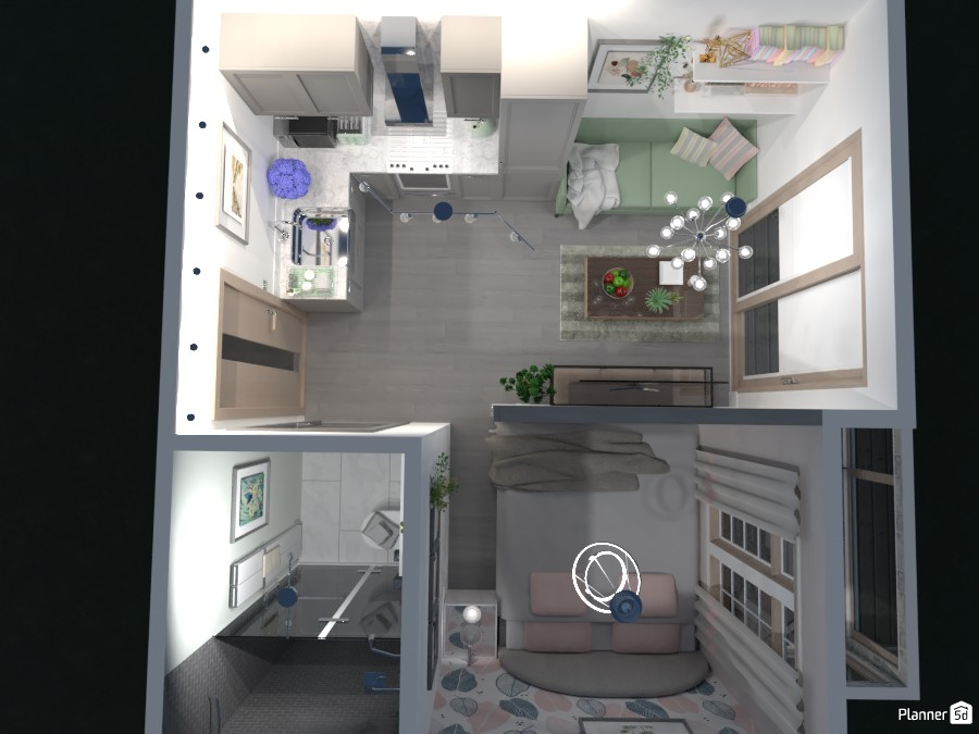 Micro apartment - overview 4945459 by Mia image
