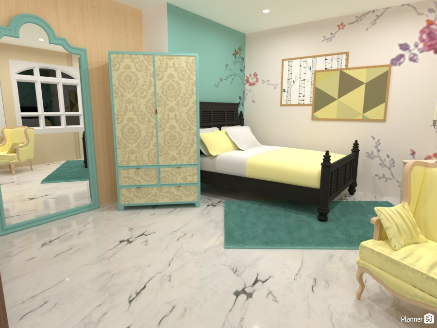 Classsical Bedroom 87510 by Mark image