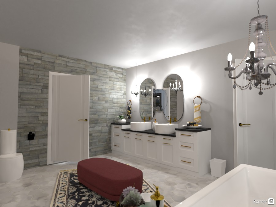 Ofi Lee: Bathroom 4330251 by Micaela Maccaferri image