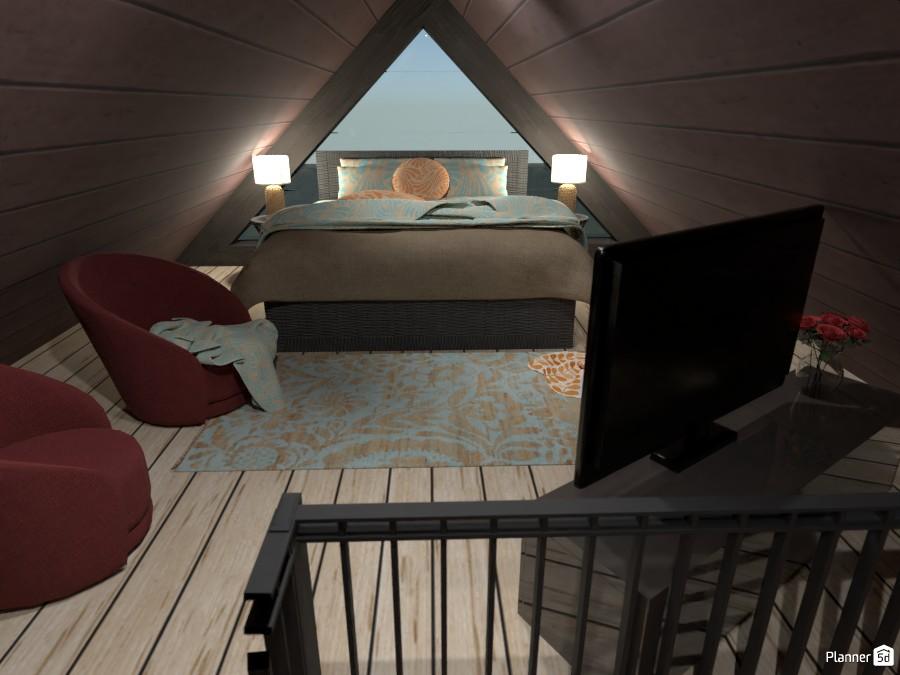Casetta nel bosco: Camera da letto 4791980 by Micaela Maccaferri image