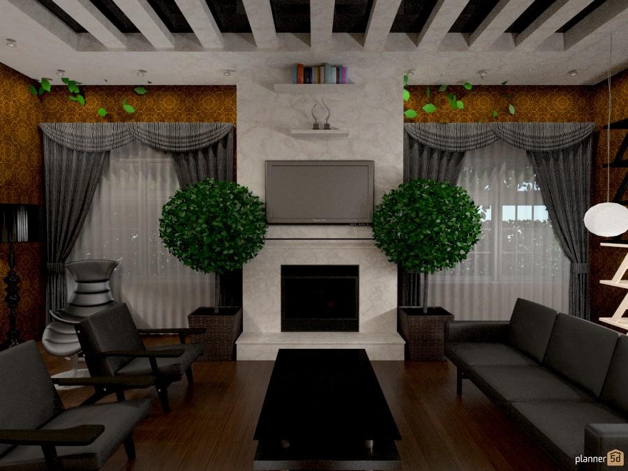 Гостиная в стиле