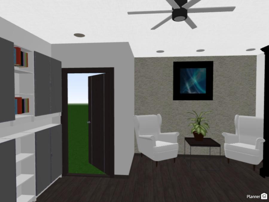 Black and gray office 82236 by Huzaifah Al-Quraishi image