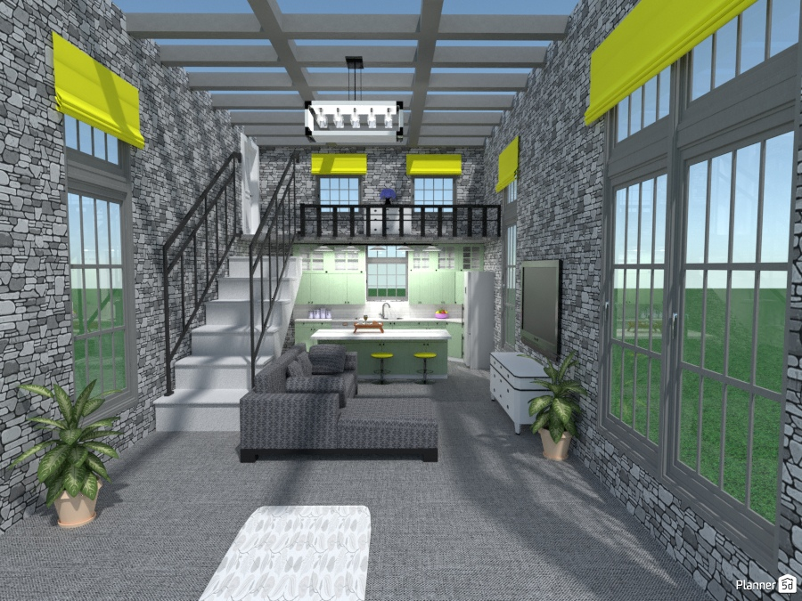 townhouse with sky roof 1951706 by Joy Suiter image