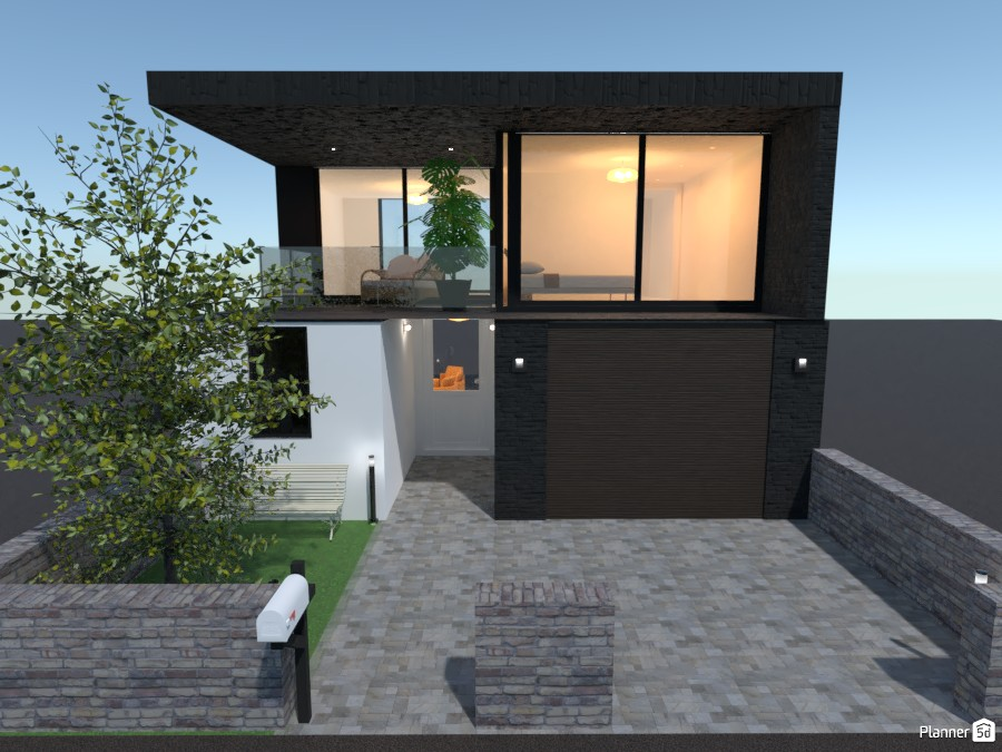 Small two-story house 85100 by rilly image