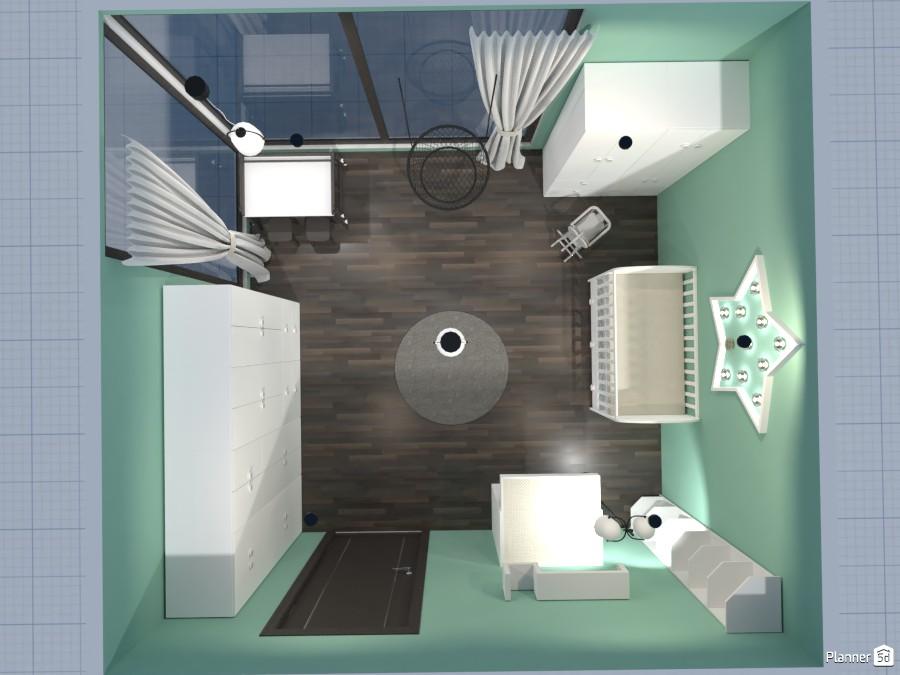 Habitación de bebe 85049 by sara banegas image