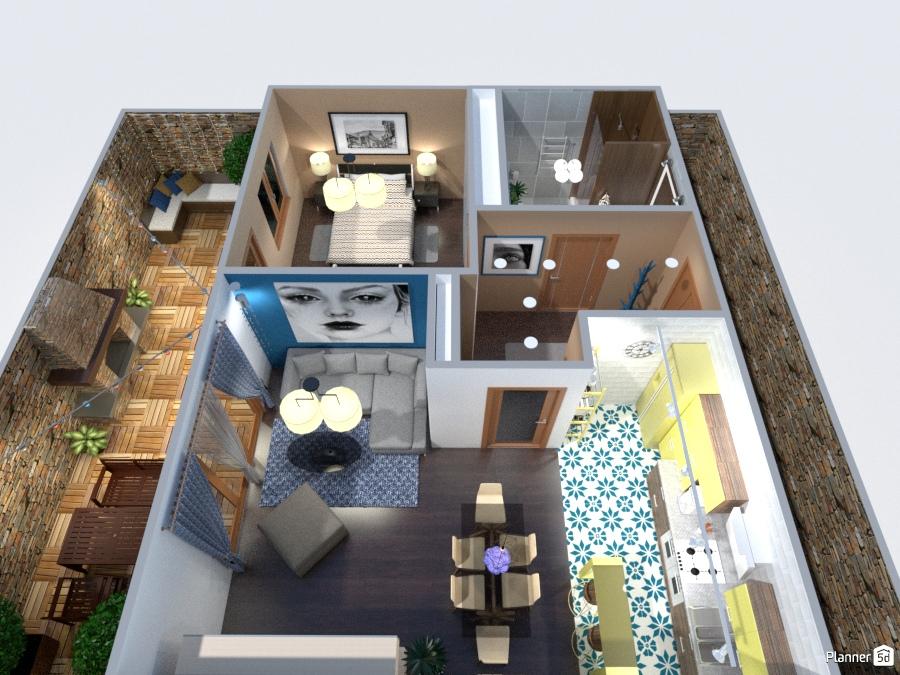 Appartement Lea Free Online Design 3d Floor Plans By Planner 5d