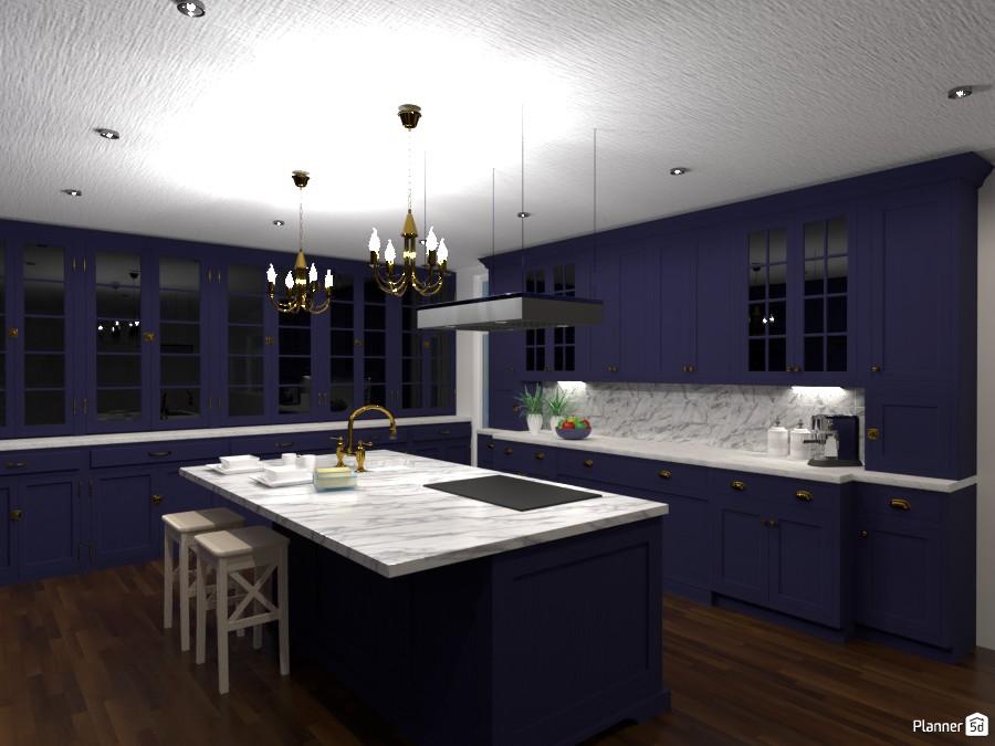 Blue Kitchen 3001609 by Sundis image