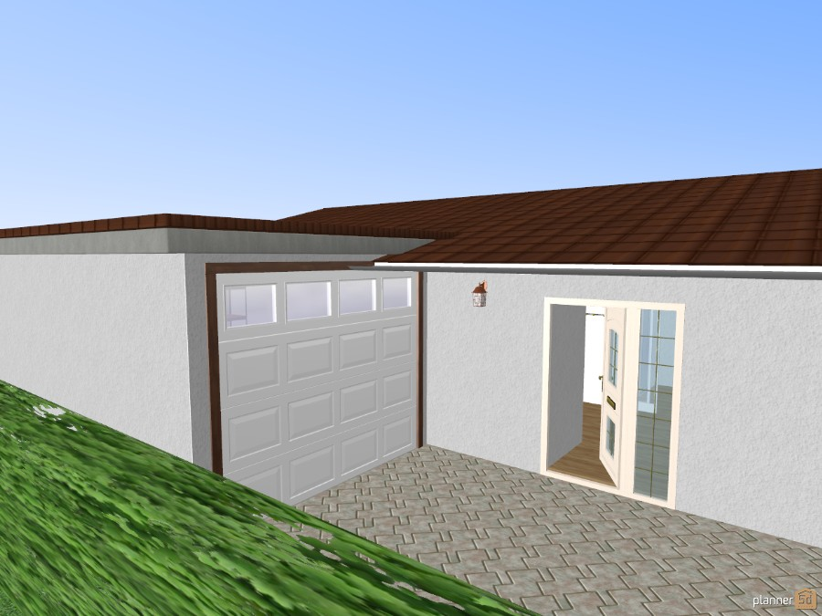 Bungalow 45872 by Siegfried Peter image