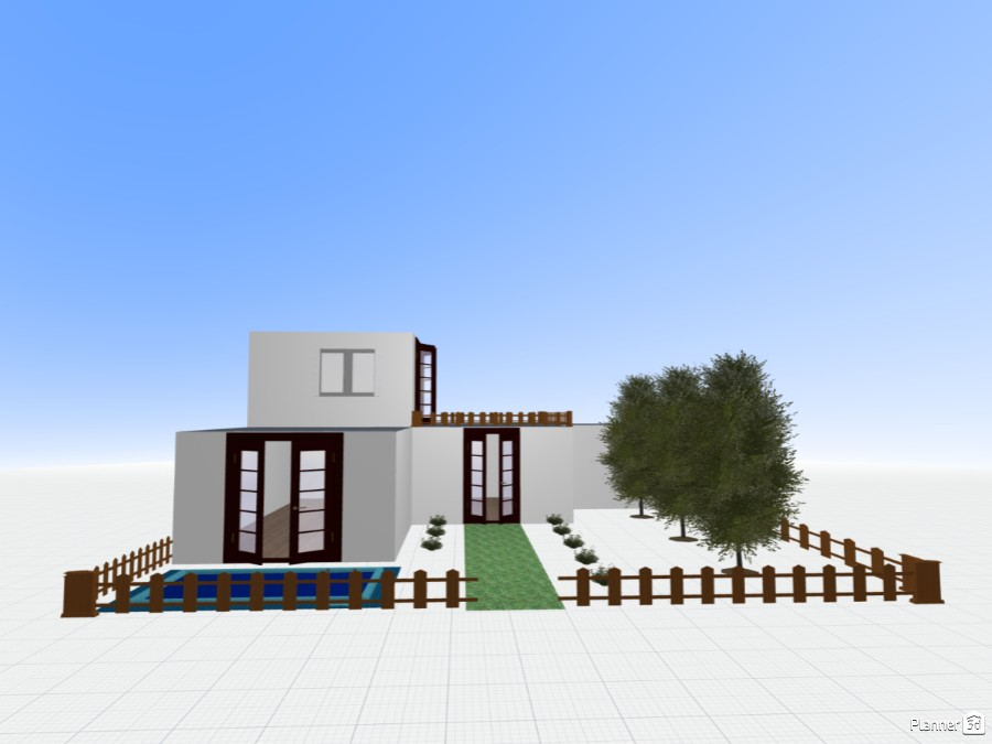 Modern Eco Friendly House Free Online Design 3d House Floor Plans By Planner 5d