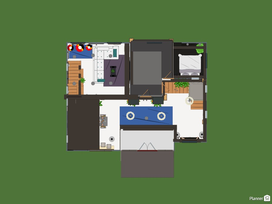 family home Large mezzanine levels 74844 by Wilson image