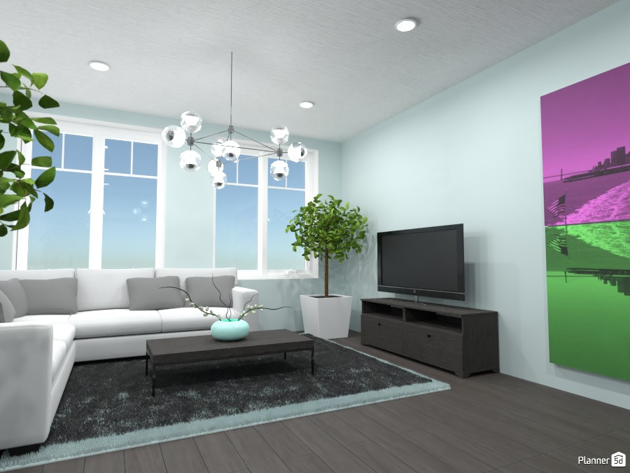 Light Blue Living room! 87789 by Doggy image