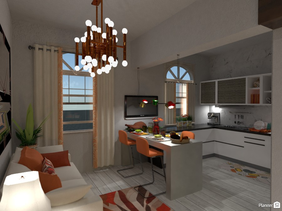 Big Box Small House Free Online Design 3d Floor Plans By Planner 5d