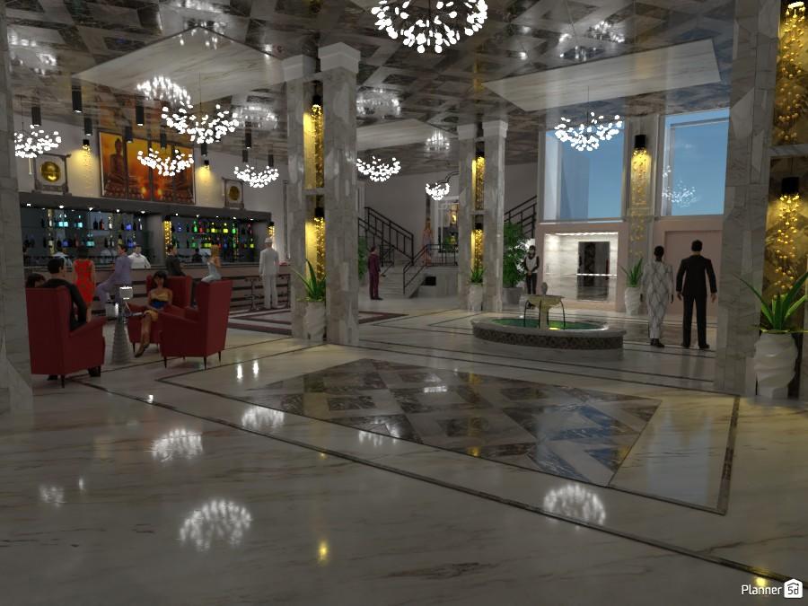 hall hôtel 4229002 by mersomiju image